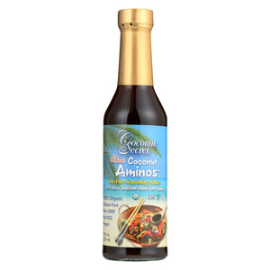 Coconut Secret Organic Raw Aminos - Coconut - Case Of 12 - 8 Fl Oz.