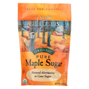 Coombs Family Farms Maple Sugar - Pure - Case Of 6 - 6 Oz.