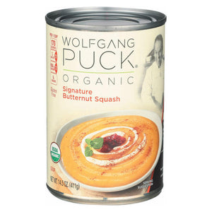 Wolfgang Puck Organic Soup - Signature Butternut Squash - Case Of 12 - 14.5 Oz.