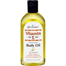 Cococare Vitamin E Antioxidant Body Oil - 9 Fl Oz