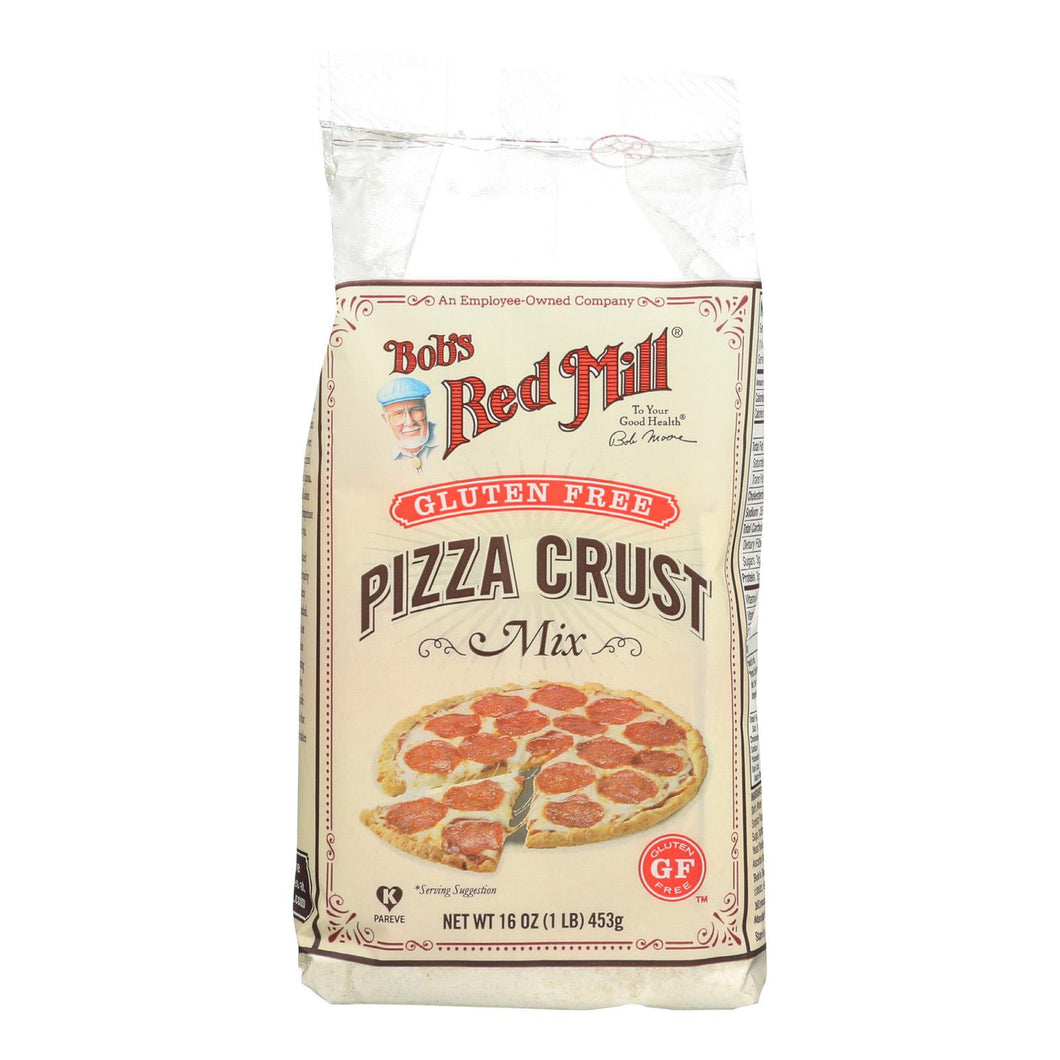 Bob's Red Mill Gluten Free Pizza Crust Mix - 16 Oz - Case Of 4