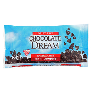 Chocolate Dream Chocolate Chips - Semi Sweet - Case Of 12 - 10 Oz