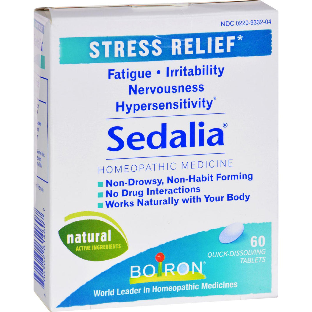 Boiron Sedalia Stress - 60 Tablets