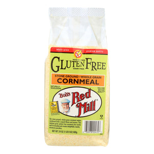 Bob's Red Mill Gluten Free Cornmeal - 24 Oz - Case Of 4