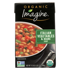 Organic Italian Vegetable & Bean Soup