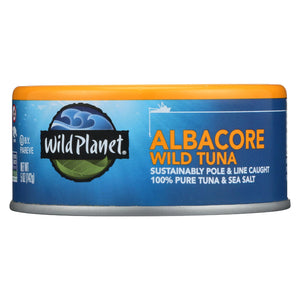 Wild Planet Albacore Tuna - Low Mercury - Case Of 12 - 5 Oz.