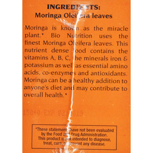 Bio Nutrition Tea - Moringa - 30 Count