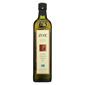 Zoe Olive Oil - Arbequina - Case Of 6 - 25.5 Fl Oz.