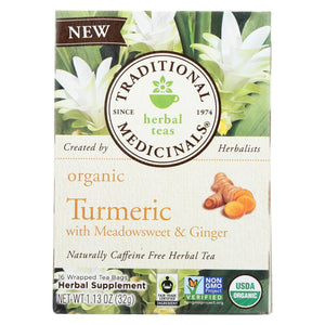 Traditional Medicinals Organic Herbal Tea - Ginger - Case Of 6 - 16 Count