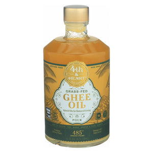 4th And Heart Ghee - Oil - Pourable - Case Of 6 - 16 Fl Oz