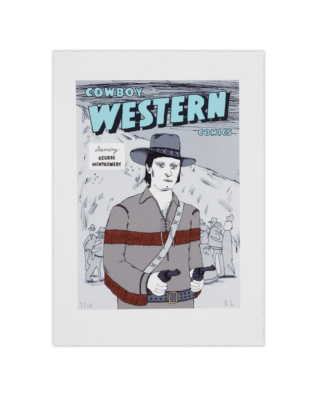 Cowboy Western Comic Cover