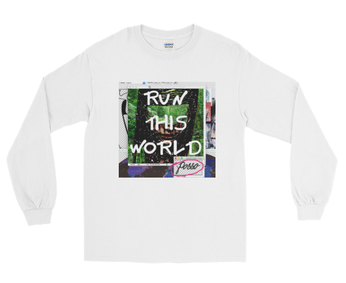 RUN THIS WORLD LONG SLEEVE TEE