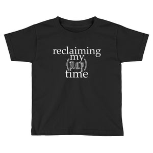RECLAIMING MY NAP TIME KIDS SHORT SLEEVE TSHIRT
