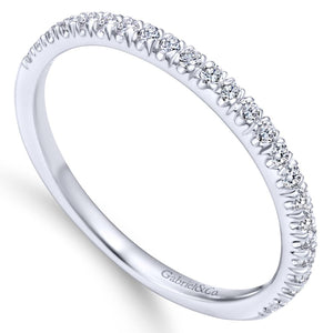 Diamond White Gold Band