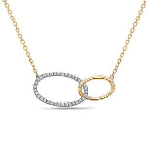 Diamond Yellow Gold Fashion Necklace