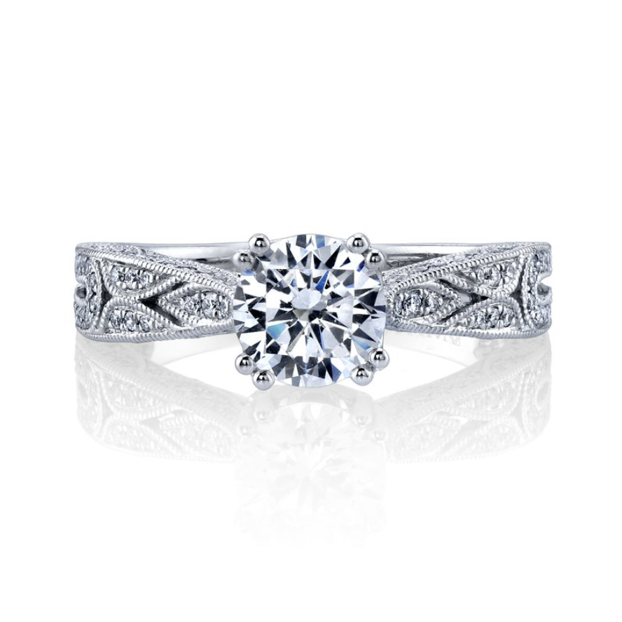 fc81ef7ee16 Diamond Modern Engagement Ring - Wilson Diamond Brokers