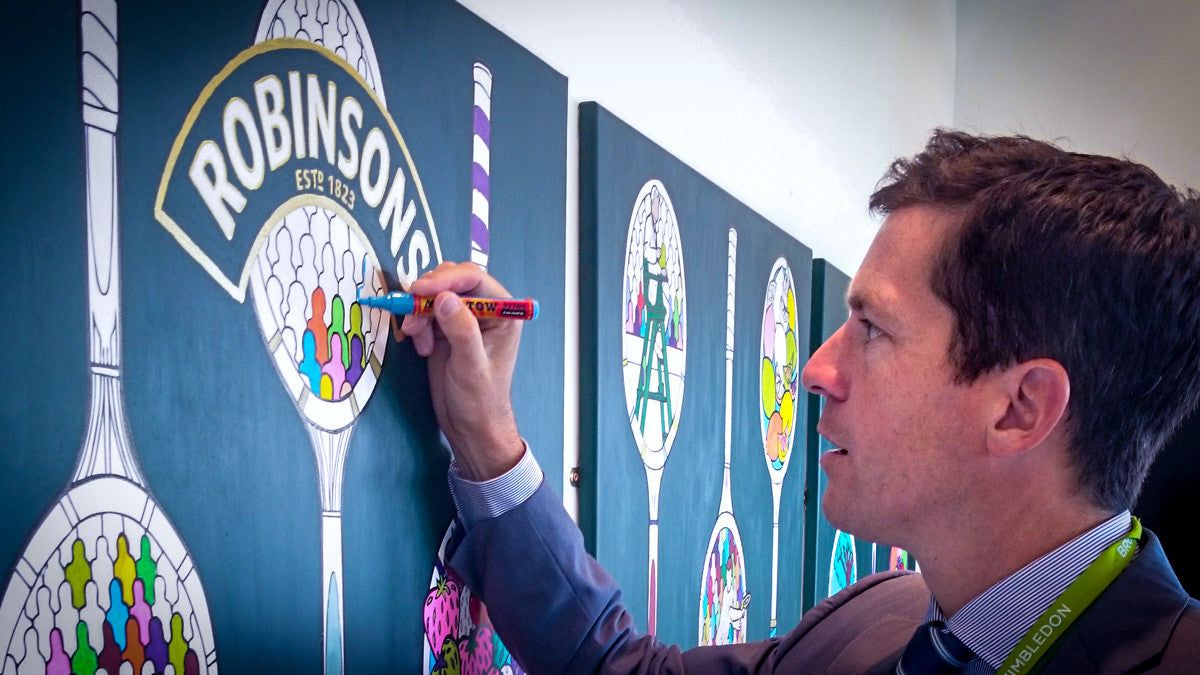 tim henman art