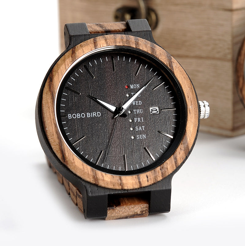 Luxury Wood Quartz Watch - everydayjoejewels
