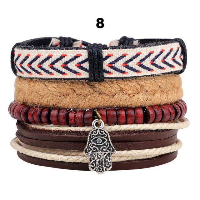 Boho Fashion Multi-layer Braided Bracelet - everydayjoejewels