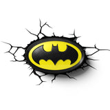 3D Batman Logo Light