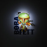 3D Mini Boba Fett Light