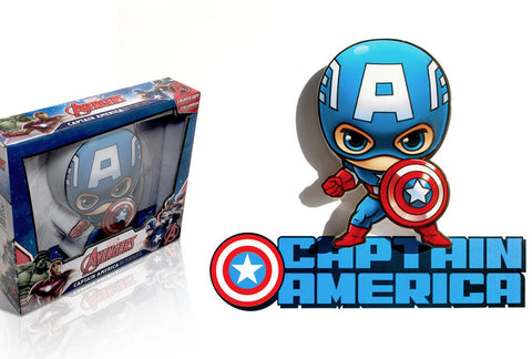 3D Mini Captain America Light
