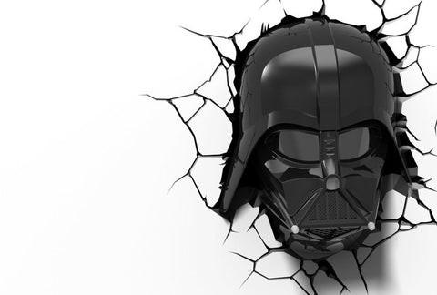 3D Darth Vader Helmet Light