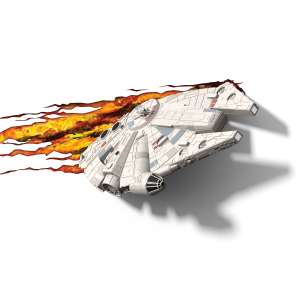 3D Millennium Falcon Light