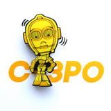 3D Mini C-3PO Light