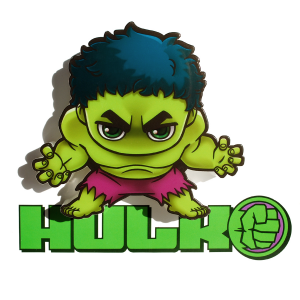 3D Mini Hulk Light