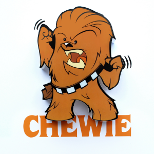 3D Mini Chewie Light