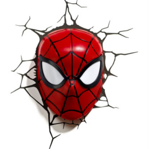 3D Spiderman Face Light