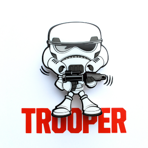 3D Mini Storm Trooper Light