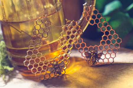 Honeybee Jewellery collection | Symbolism of a Bee