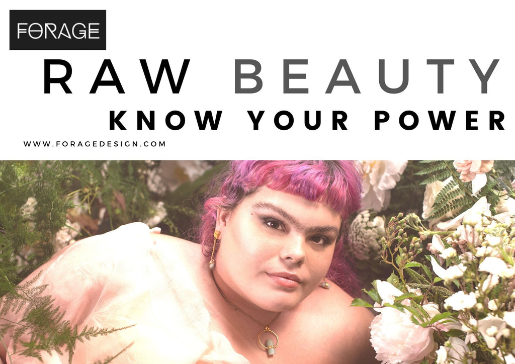 Raw Beauty Know Your Power Gold jewellery look book