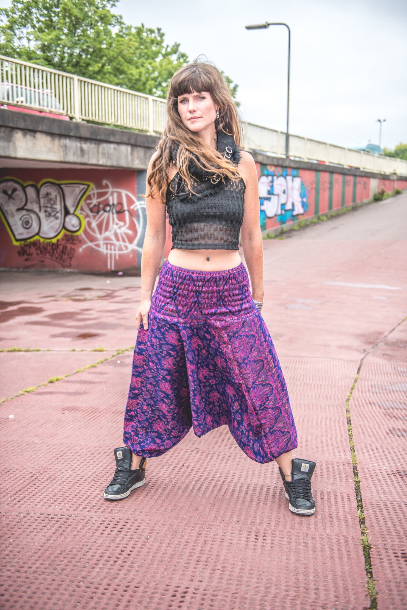 Forage design, boho chothing, harem pants, festival fashion, bristol fashion, bohemian style, boho kaftan, ali baba pants, yoga pants, boho ideas, ethical clothing, sustainable brands