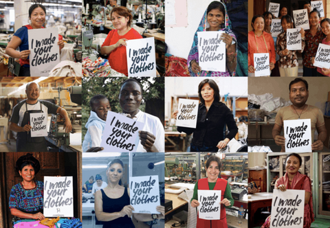Fashion revolution, who made my clothes, rana plaza, garment workers, ethical fashion, sustainable brand