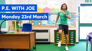 PE with joe - kids excercise ideas during lockdown - what to do with kids quarantine