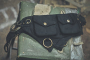 Canvas Ring Belt