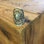 Silver Battle Ring