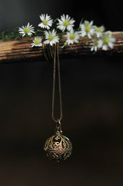 Ornate Chime Orb Pendant
