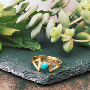 Elements  Ring - Turquoise