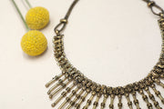 Chainmail Statement Necklace - Bahla