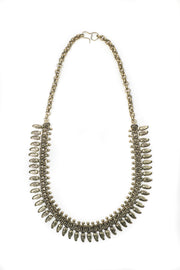Chainmail Brass Necklace - Dayaniti