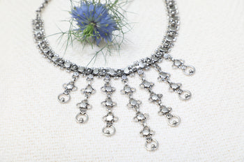Chainmail Silver Tone Necklace - Sadhana