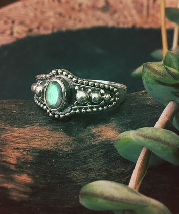 Silver Sewena  Ring