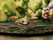 Silver Masika Feather Ring