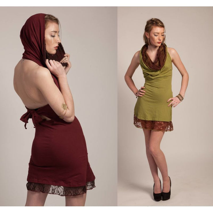 Archer Hooded Mini Dress Foragedesign Clothing / Women's Dresses