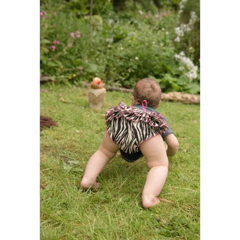 Baby Bloomers - Zebra Foragedesign Clothing / Unisex Kids' Pants