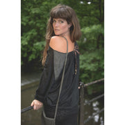 Batwing Dress - Black Leopard Foragedesign Clothing / Women's Tops & Tees Tunics